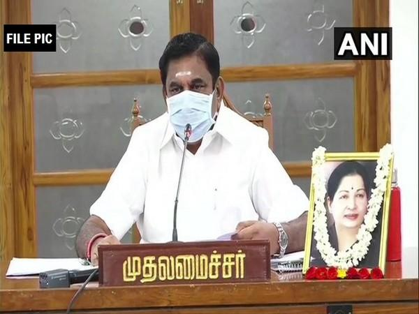 Tamil Nadu Chief Minister Edappadi K Palaniswami (File Photo/ANI)