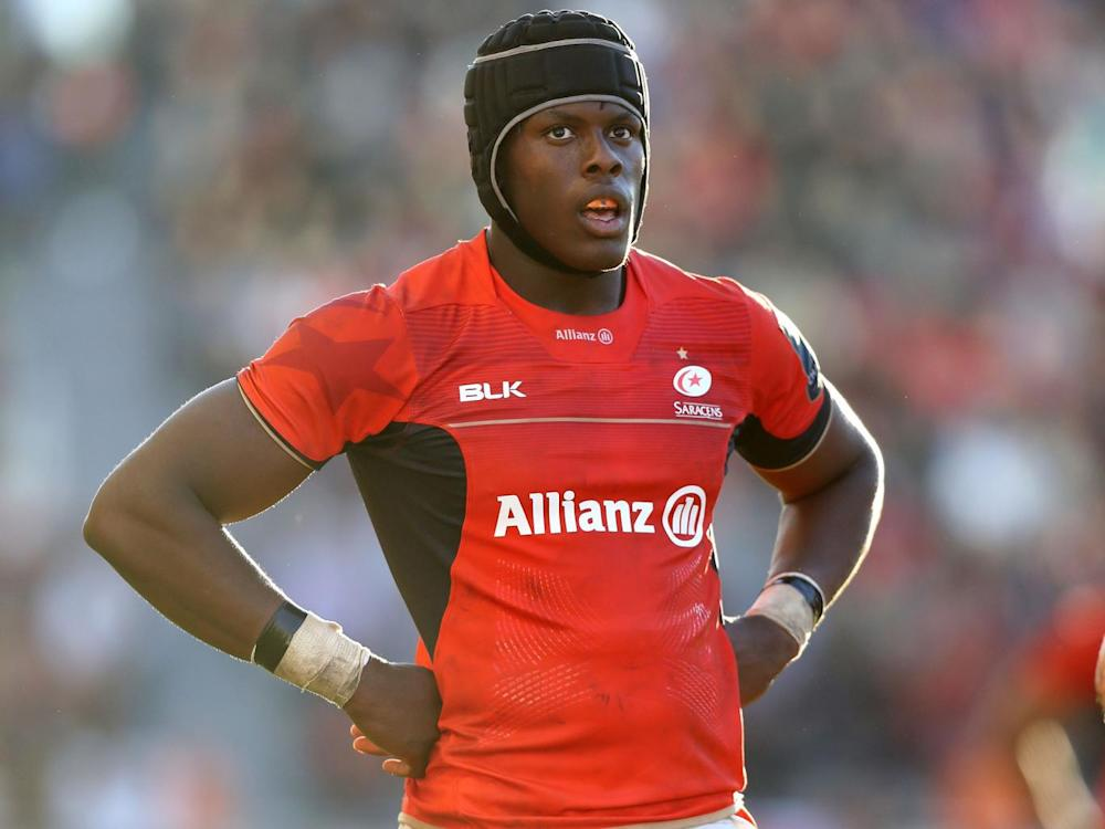 Itoje is one of five England players back for Saracens this weekend (Getty)
