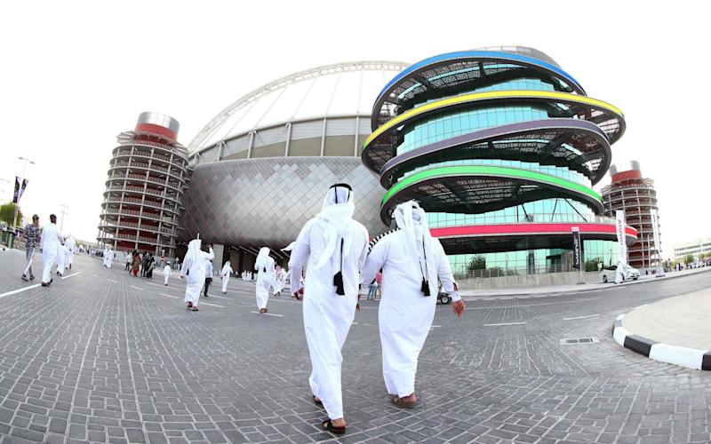 Qatar will be the first time the World Cup has been held in theMiddle East - AFP