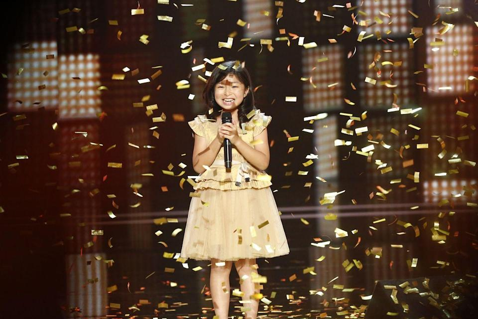 """<p>Everyone loves a golden buzzer moment on <em>AGT.</em> If you're lucky enough to receive one, you're automatically on the show, regardless of the other judge's votes. The concept debuted in season 9 and <a href=""""https://agt.fandom.com/wiki/Golden_Buzzer#:~:text=The%20Golden%20Buzzer%20is%20a,purpose%20was%20to%20break%20ties."""" rel=""""nofollow noopener"""" target=""""_blank"""" data-ylk=""""slk:served as a way to break ties"""" class=""""link rapid-noclick-resp"""">served as a way to break ties</a> amongst the judges.</p>"""