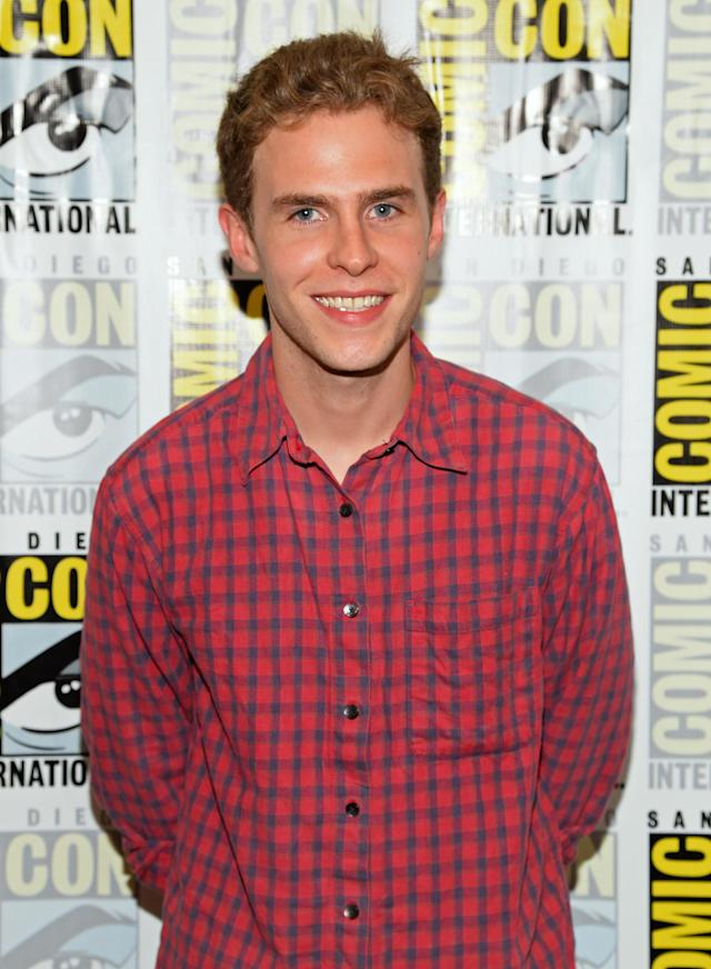 "Iain De Caestecker attends ""Marvel's Agents Of S.H.I.E.L.D."" Press Line during Comic-Con International 2013 at Hilton San Diego Bayfront Hotel on July 19, 2013 in San Diego, California."