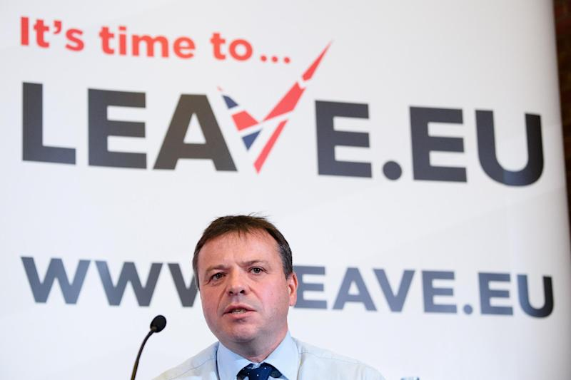 Insurance millionaire Arron Banks is one of the co-founders of Leave.EU: AFP/Getty