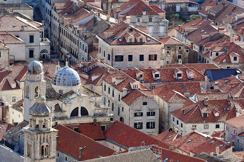 Dubrovnik, lately famous for being a 'Game of Thrones' location, is the backdrop for Chinese efforts to woo eastern Europeans (AFP Photo/Denis LOVROVIC)
