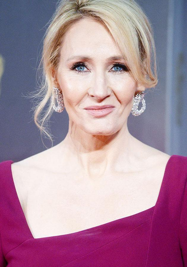 The author of the Harry Potter series, JK Rowling, paid tribute to the star. Source: Getty