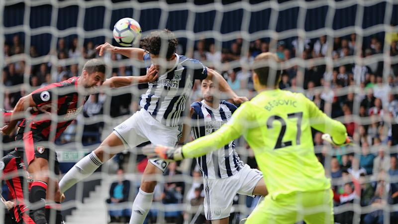 West Brom 1 Bournemouth 0: Hegazi header earns Pulis all three points