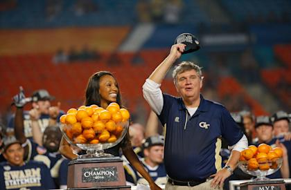 How far will Paul Johnson's option offense take the Yellow Jackets this season? (Getty)
