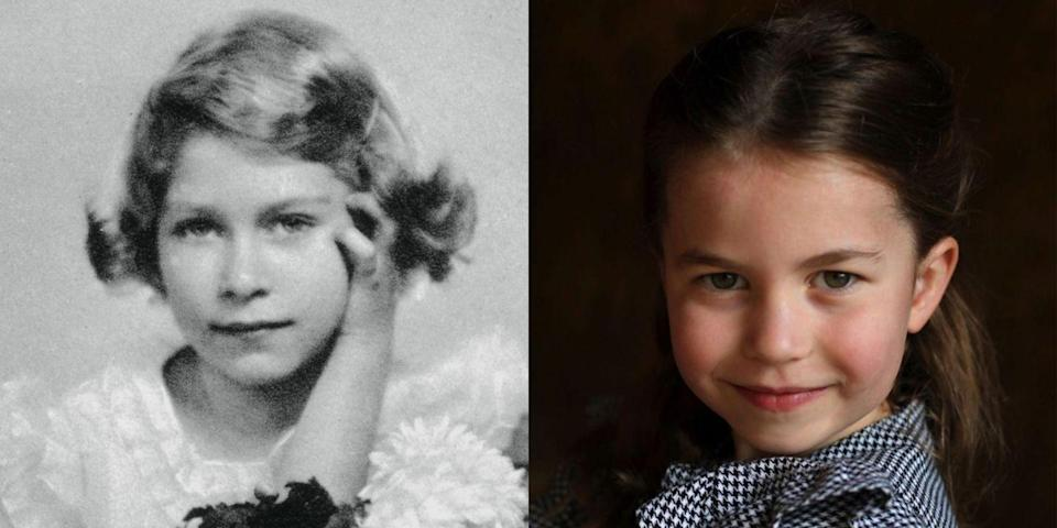 Royal Fans Can't Decide If Charlotte Looks More Like the Queen or Prince William in Her New Birthday Portraits