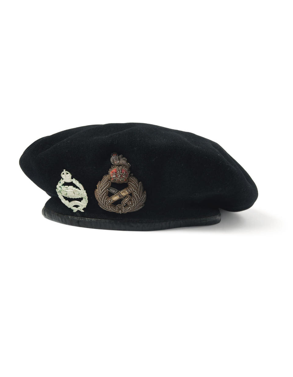 <p> A beret belonging to Field Marshal Bernard Montgomery will be going under the hammer. (David Gainsborough Roberts Collection/Christie's/PA Wire)</p>