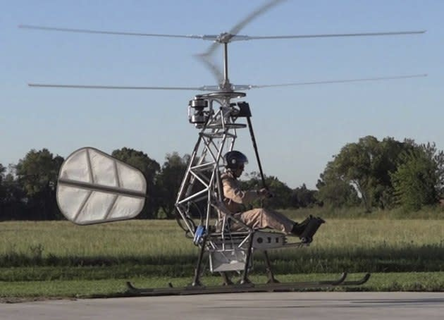 Electric vehicles go airborne with the first battery-powered helicopter