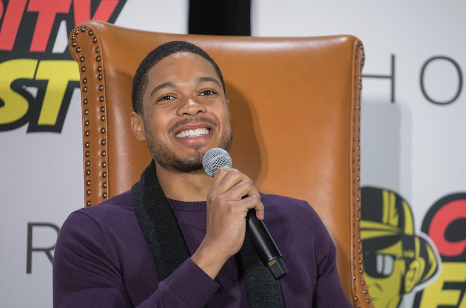 "Ray Fisher attends ""Cyborg Culture"" during Celebrity Fan Fest on November 10, 2018. (Photo by Rick Kern/WireImage)"
