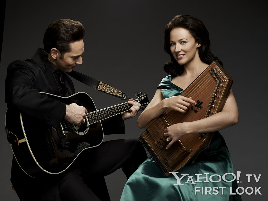 "Matt Ross (""Johnny Cash"") and Jewel (""June Carter Cash"") star in the all-new Lifetime Original Movie, ""Ring of Fire,"" premiering Monday, May 27 at 8pm ET/PT on Lifetime."