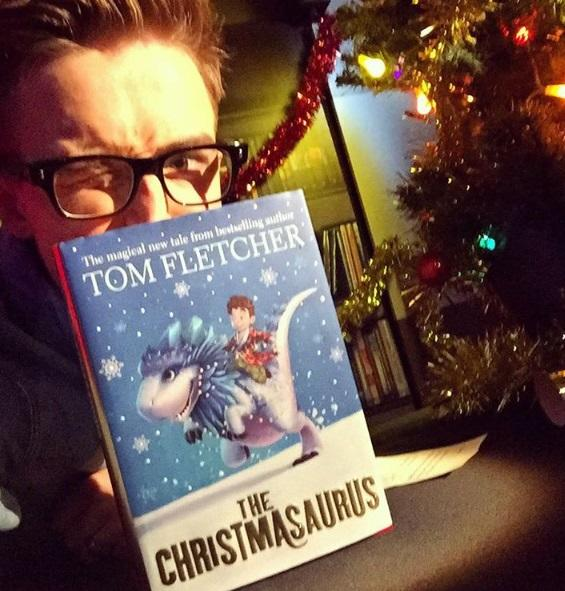 'The Christmasaurus' is Tom's first full-length novel