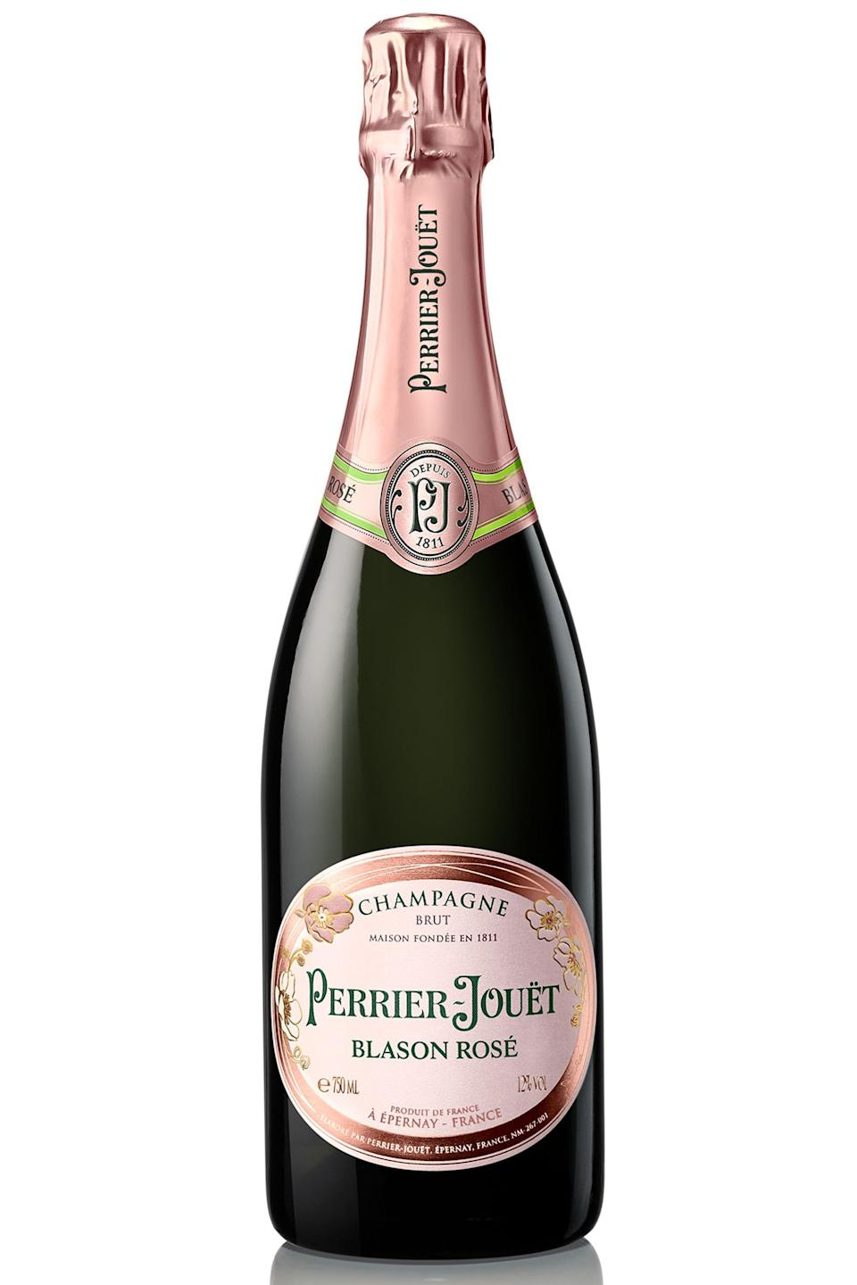 """<p><strong>Perrier-Jouet</strong></p><p>wine.com</p><p><strong>$78.99</strong></p><p><a href=""""https://go.redirectingat.com?id=74968X1596630&url=http%3A%2F%2Fwww.wine.com%2Fv6%2FPerrier-Jouet-Blason-Rose%2Fwine%2F110757%2FDetail.aspx&sref=https%3A%2F%2Fwww.townandcountrymag.com%2Fleisure%2Fdrinks%2Fnews%2Fg1319%2Fbest-rose-brands%2F"""" rel=""""nofollow noopener"""" target=""""_blank"""" data-ylk=""""slk:Shop Now"""" class=""""link rapid-noclick-resp"""">Shop Now</a></p><p>Just what you need to pair with some ice cold oysters, this nicely rounded champagne brings tart strawberry and raspberry notes with a mineral finish that will remind you of rosé's elegant side. </p>"""