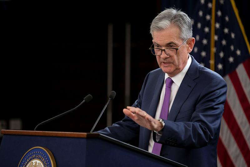 Powell sees potential headwinds to U.S. growth as Fed weighs rate policy