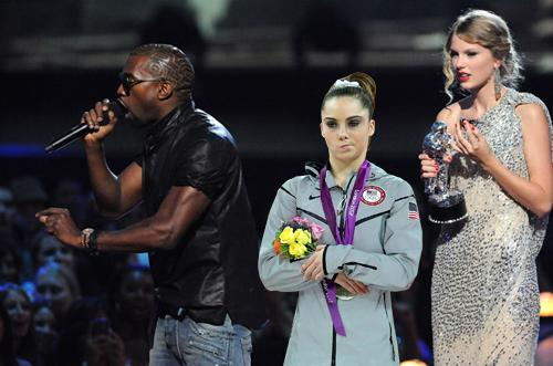 """Yo Taylor, I'm really happy for you, I'm going to let you finish but McKayla Maroney had one of the best vaults of all time."""