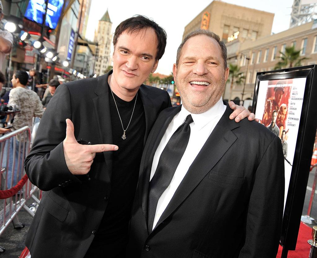 "<a href=""http://movies.yahoo.com/movie/contributor/1800021942"">Quentin Tarantino</a> and <a href=""http://movies.yahoo.com/movie/contributor/1800088780"">Harvey Weinstein</a> at the Los Angeles premiere of <a href=""http://movies.yahoo.com/movie/1808404206/info"">Inglourious Basterds</a> - 08/10/2009"
