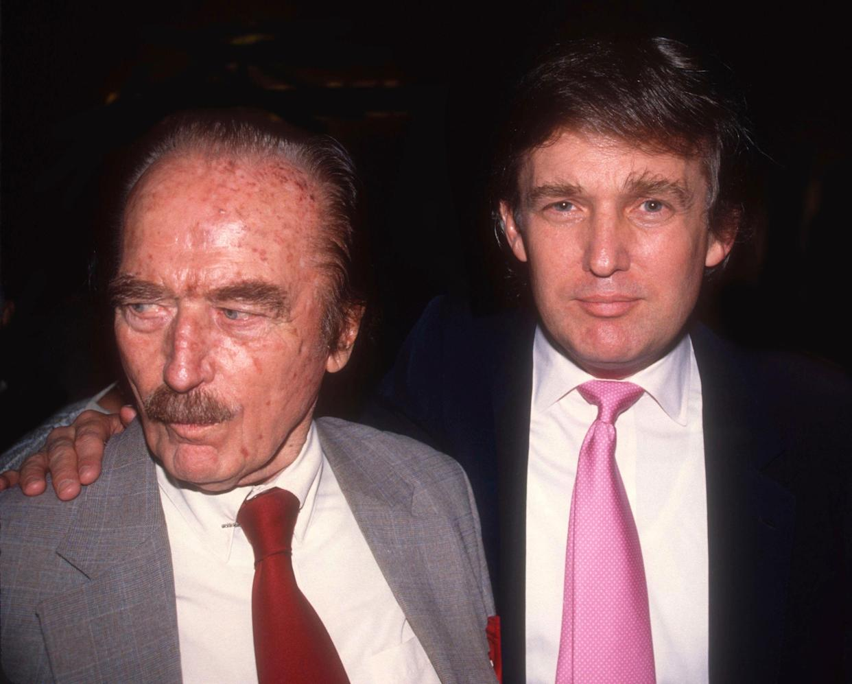 Fred Trump with Donald Trump. (Adam Scull/Photolink/MediaPunch/IPX)