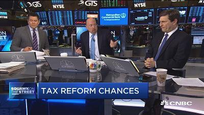 CNBC's Jim Cramer gives his take on the GOP tax bill and whether it might flop.
