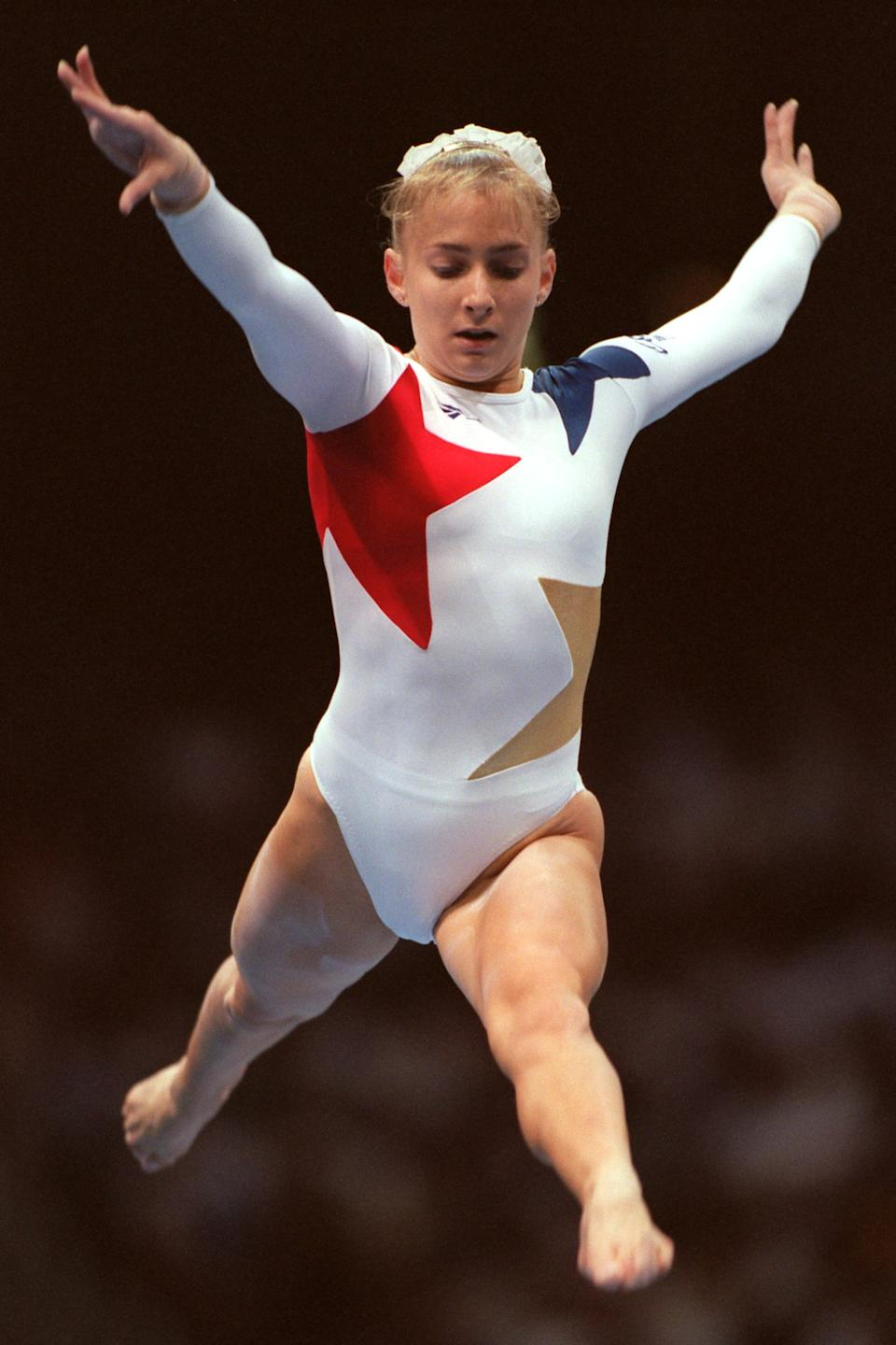 Miller competed at the '92 and '96 Olympics. (Photo: Aubrey Washington/EMPICS via Getty Images)