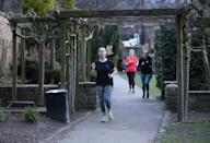 Runners in Rothwell