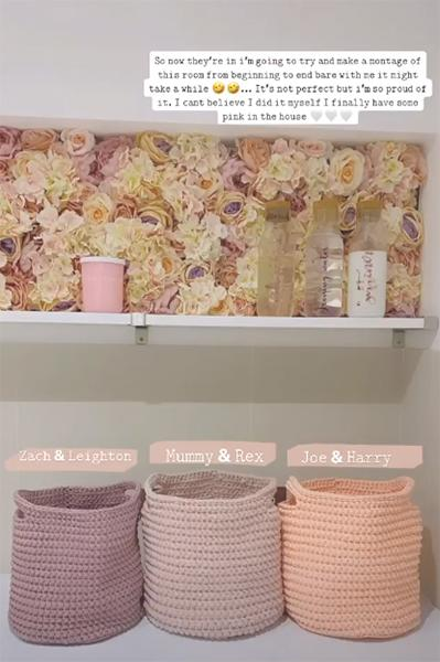 stacey-solomon-pink-room-laundry-baskets
