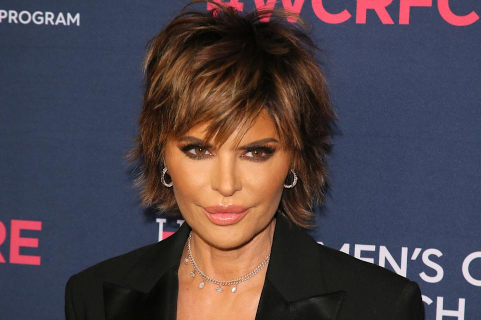 Lisa Rinna is stepping in to defend her daughter, Amelia Hamlin, against online trolls (Photo via Getty Images)