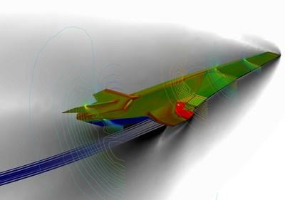 AGI and ANSYS streamline high-speed hypersonic weapon defense system design and integration. Image provided by AGI.