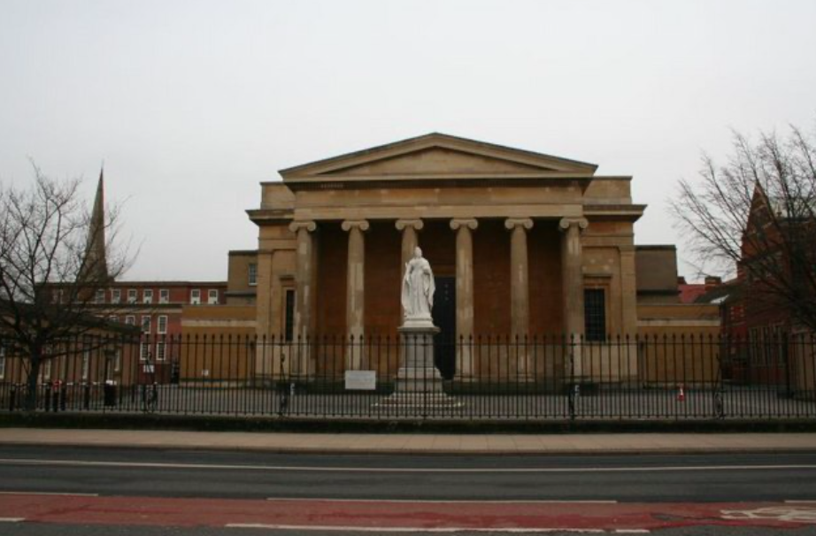 Ricky Portman was told to walk 14 miles to Worcester Crown Court. (Wikipedia)