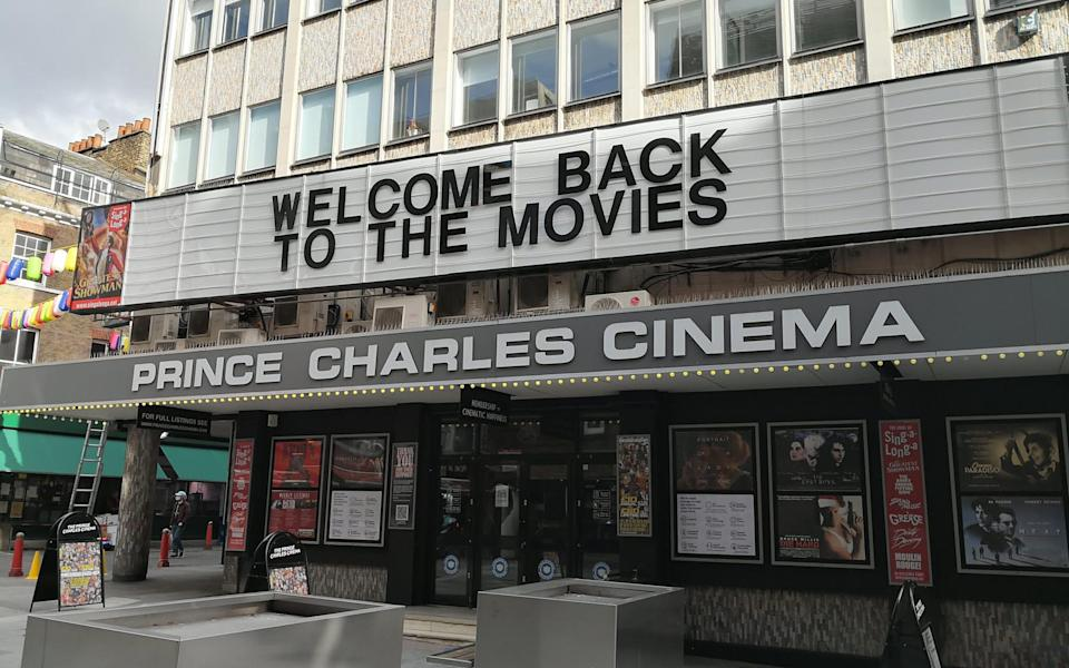 Other cinemas re-opened in July, but it wasn't until early August that the Prince Charles announced its plans to unlock the doors – in mid-October - Ben Freedman