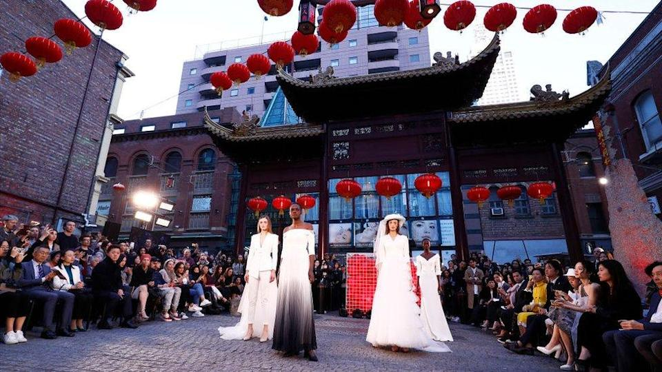 An event in Melbourne's Chinatown in 2019