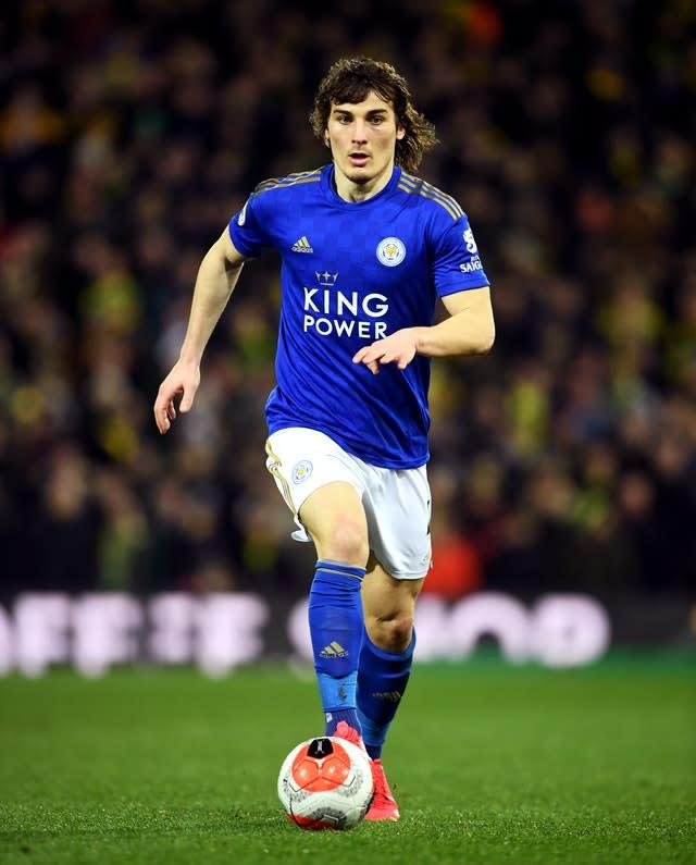 Cengiz Under is excited to join up with Turkey team-mate Caglar Soyuncu (pictured)