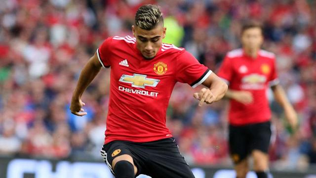 """<p><strong>Transfer: Manchester United to Valencia</strong></p> <br><p>Despite a promising pre-season for the Red Devils, Brazilian youngster Andreas Pereira is set to spend the season away from Old Trafford, with reports <a href=""""http://www.90min.com/posts/5427576-man-utd-starlet-looks-set-to-join-la-liga-giants-on-loan-in-order-to-gain-more-experience"""" rel=""""nofollow noopener"""" target=""""_blank"""" data-ylk=""""slk:suggesting"""" class=""""link rapid-noclick-resp"""">suggesting</a> that a loan move to Valencia is on the cards for the promising playmaker. </p>"""