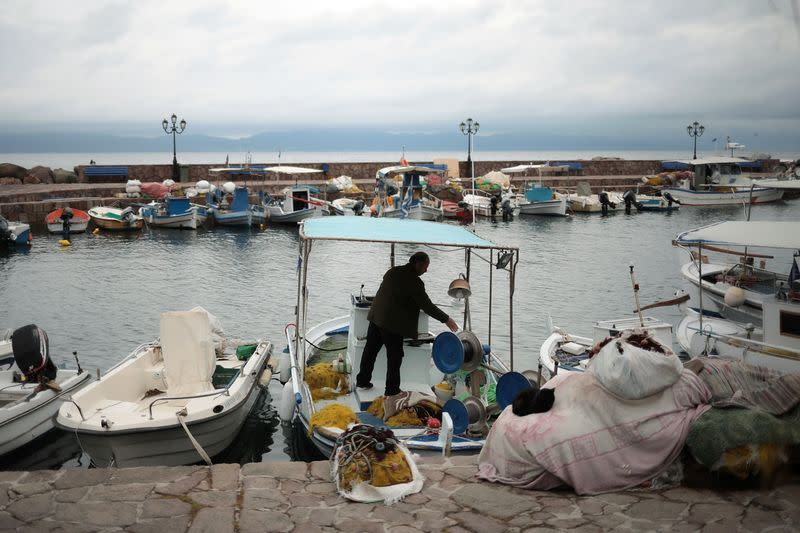 Greece makes masks compulsory on ferry decks after rise in COVID-19 cases