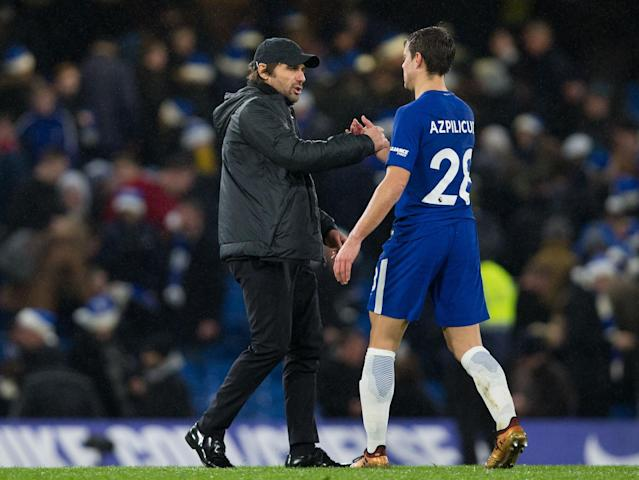 Chelsea players ready to fight for embattled Antonio Conte, insists Cesar Azpilicueta