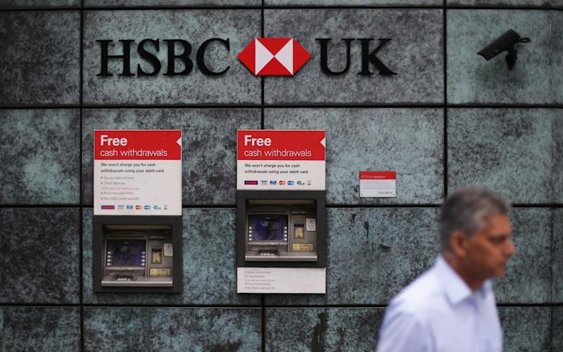 Customers with an annual income of £75,000 can now open an HSBC Premier account - AFP