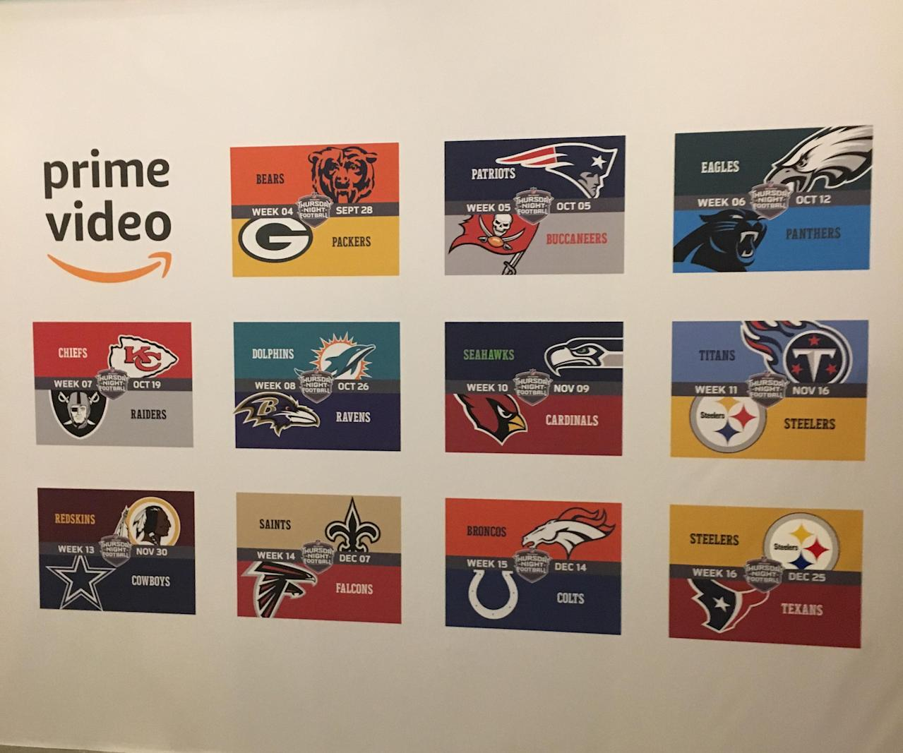 7878dc290 Amazon s NFL streaming is an ad-data play
