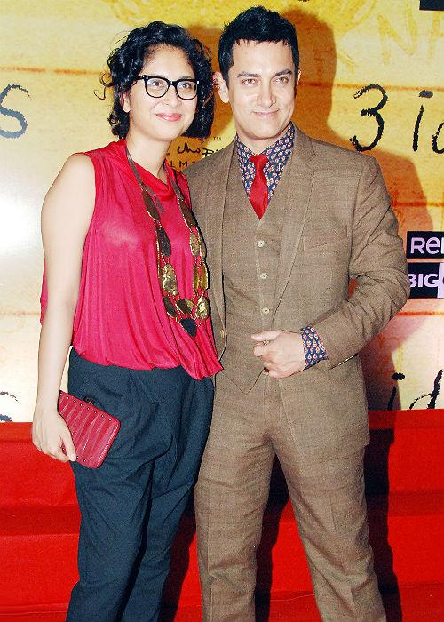 <b>8.Aamir Khan and Kiran Rao</b> <p> Love for Cinema is what brought Mr. Perfectionist close to his wife  Kiran Rao and his decision of 'second' marriage seems to be getting  'Perfect' results for this couple.</p>