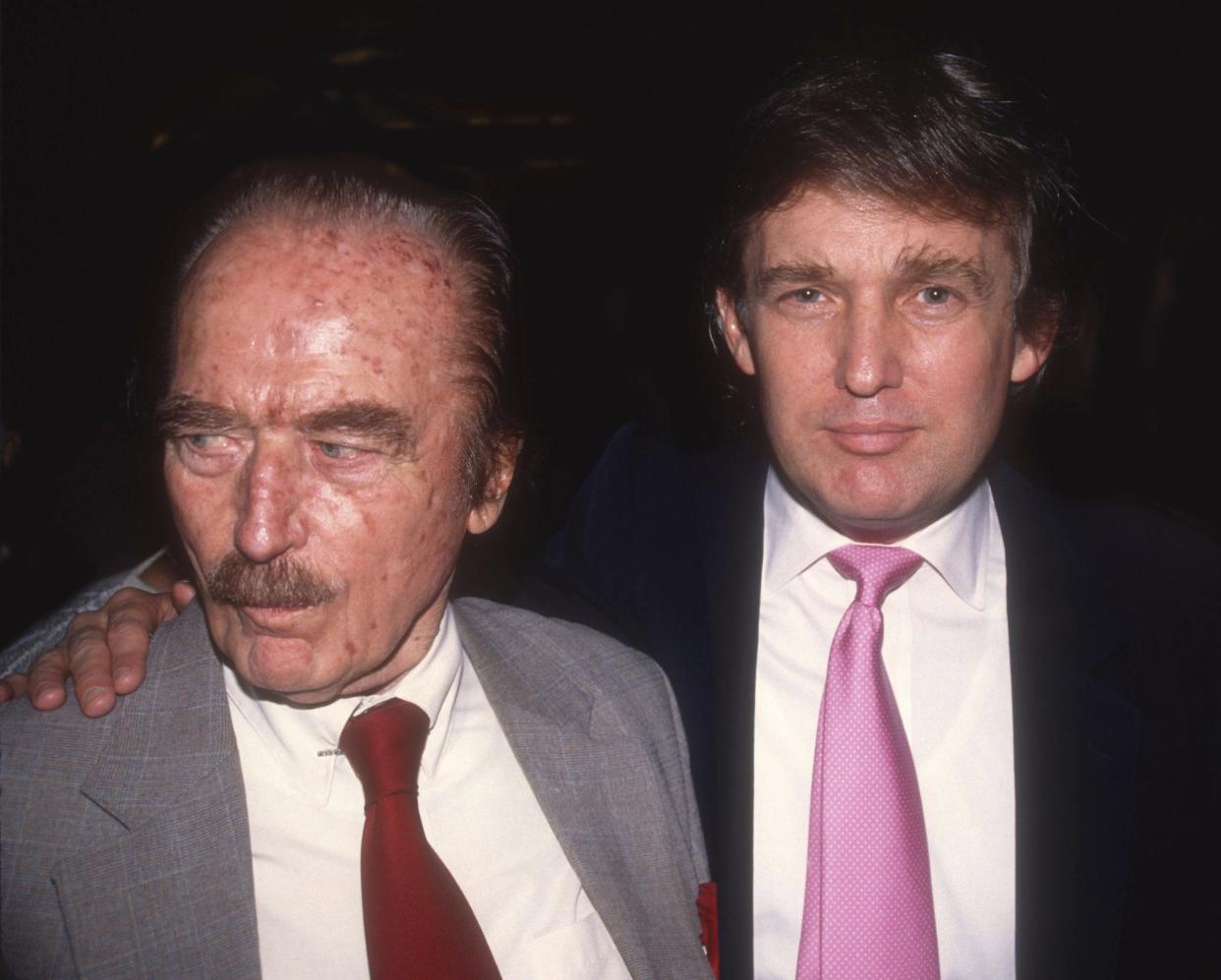 Fred Trump and Donald Trump (Photo: Adam Scull/Photolink/MediaPunch/IPX/AP)