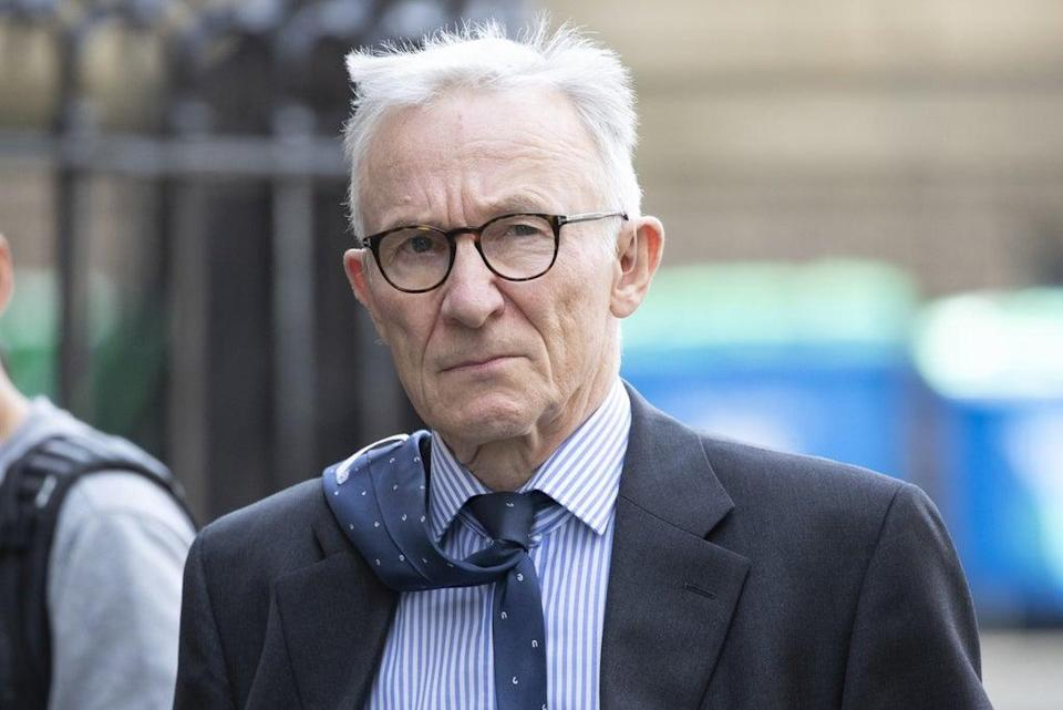 Lord Brodie is chairing the inquiry into problems at hospitals in Edinburgh and Glasgow (Jane Barlow/PA) (PA Wire)