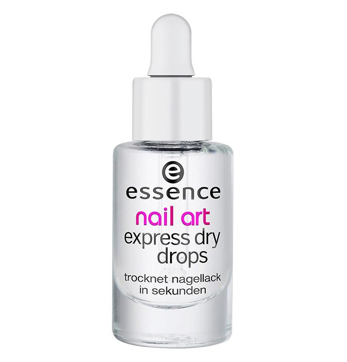 "Essence Nail Art Express Dry Drops, $2.99; at <a rel=""nofollow"" href=""http://www.ulta.com/nail-art-express-dry-drops?productId=xlsImpprod3400023&sku=2232137&"" rel="""">Ulta</a>"