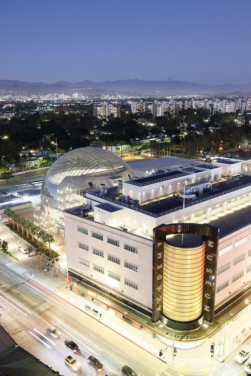Academy Museum of Motion Pictures at Fairfax and Wilshire, Los Angeles - Credit: Iwan Baan, iwan@iwan.com, www.iwan.com
