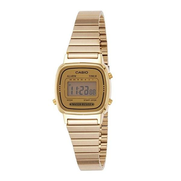 """In the market for a cheap watch that looks anything but? Casio has you covered with this gold, stainless steel digital dial watch. At only $30 it makes it the perfect gift idea for a stocking stuffer or a last-minute secret Santa gift. Plus, with <a href=""""https://www.teenvogue.com/story/amazon-prime-day-how-to-shop?mbid=synd_yahoo_rss"""">Amazon Prime</a>, you can get it delivered on the next day. $30, Amazon. <a href=""""https://www.amazon.com/Casio-Womens-LA670WGA-9-Stainless-Steel-Digital/dp/B004W3RITC/ref=sr_1_10?qid=1570638087&refinements=p_n_size_four_browse-vebin%3A6896052011&s=apparel&sr=1-10"""">Get it now!</a>"""