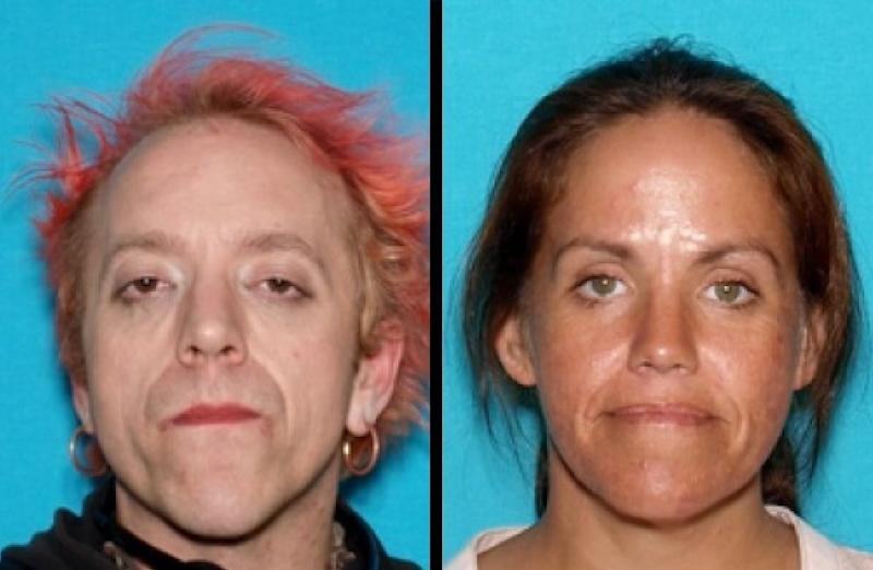 Curtis Culver, left, and his sister Shanna Culver were involved in the slaying, according to Brian Keith Hawkins' statement. (Shasta County Sheriff's Office)