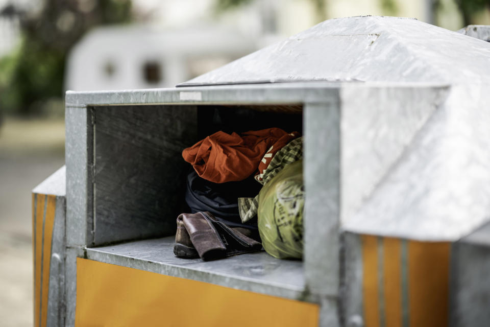 One Canadian company is now removing all 146 of their donation bins. Image: Getty (file image)