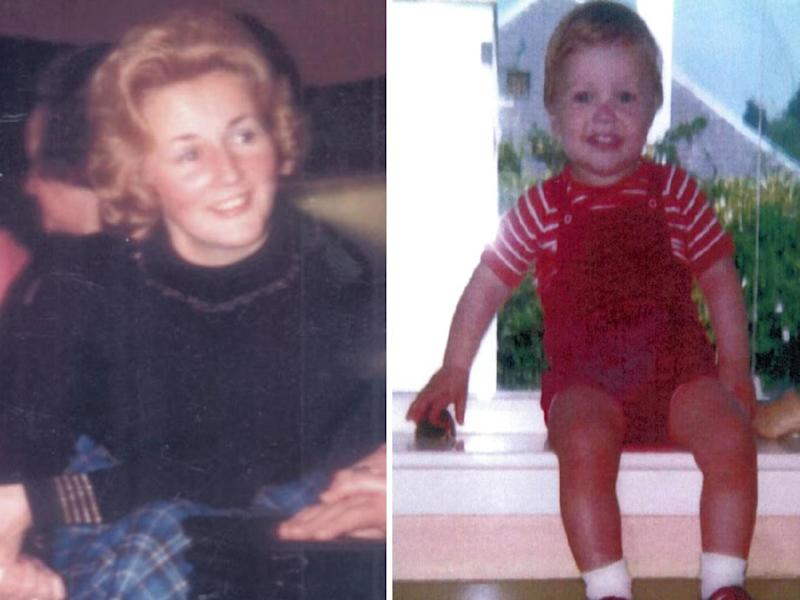 Renee MacRae, 36, and three-year-old Andrew Macrae, disappeared after leaving their home near Inverness on November 12 1976: PA
