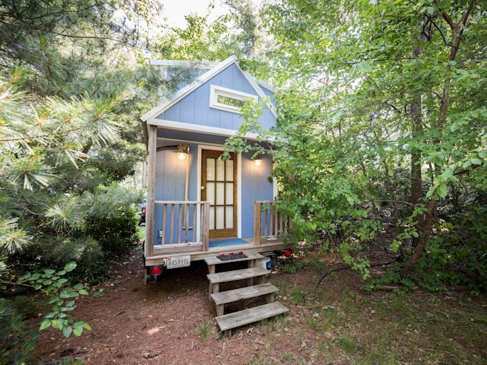A tiny house in the US.