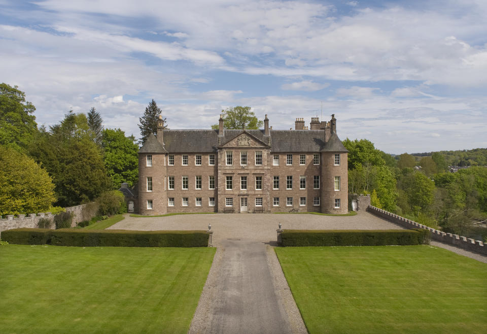 Brechin Castle comes with 70 acres of land - not too shabby at all (Savills)