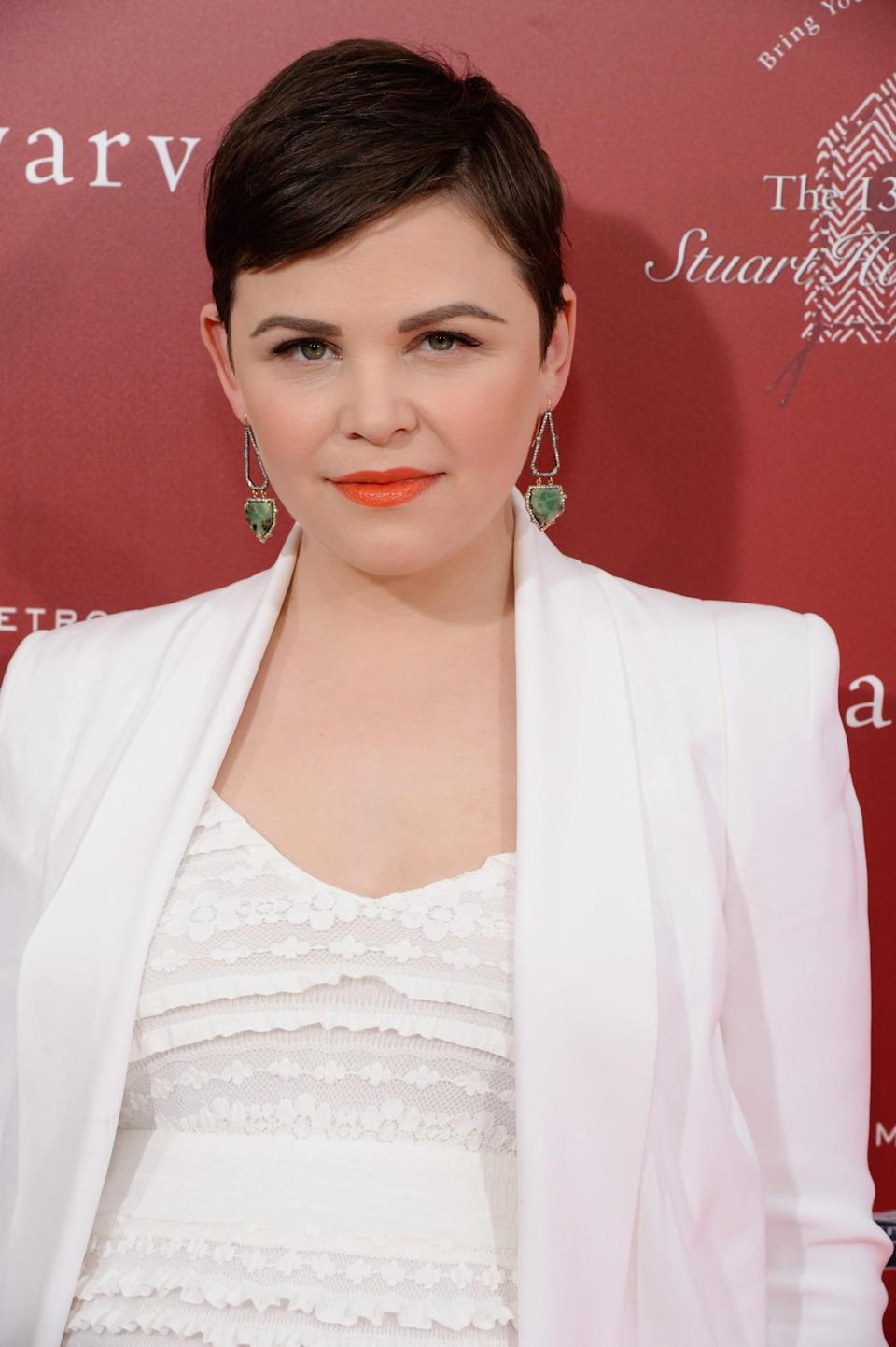 <p>Ginnifer Goodwin's trademark short hair has made us all want to shed our long locks at one time or another. [Photo: Getty] </p>
