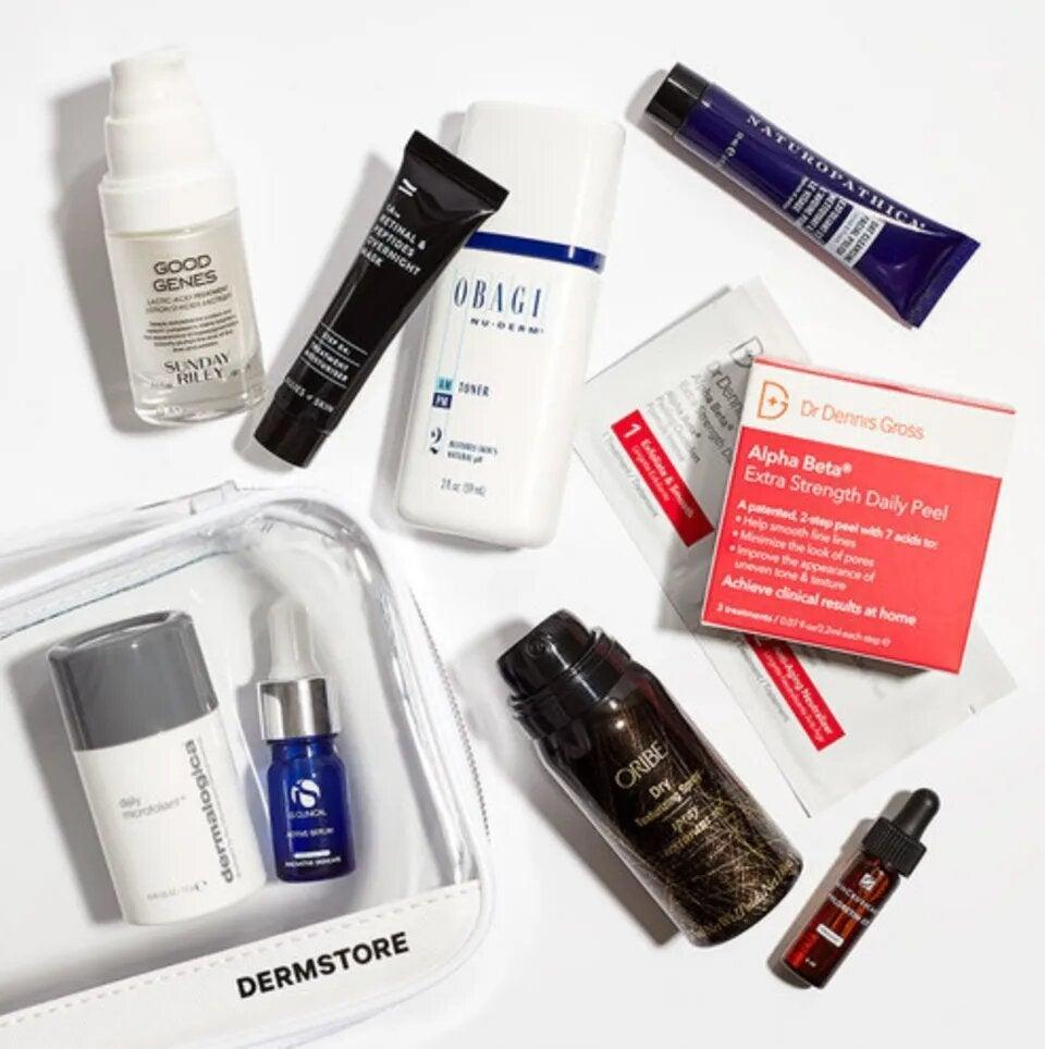 "<h3>Best of Dermstore The Essential Edit</h3> <br> Dermstore's grab bag of best-of-the-best brands includes heavy-hitters from brands like Oribe Sunday Riley, SkinCeuticals, and more. <br> <br> <strong>Best of Dermstore</strong> The Essential Set, $, available at <a href=""https://go.skimresources.com/?id=30283X879131&amp;url=https%3A%2F%2Fwww.dermstore.com%2Fproduct_The%2BEssential%2BSet_83725.htm"" rel=""nofollow noopener"" target=""_blank"" data-ylk=""slk:DermStore"" class=""link rapid-noclick-resp"">DermStore</a>"