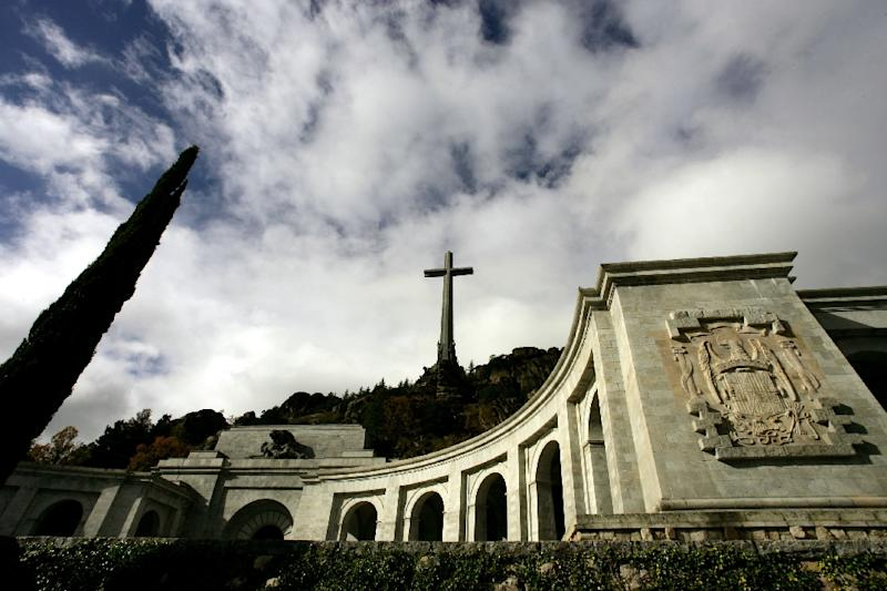 Francisco Franco is buried in an imposing basilica carved into a mountain-face (AFP Photo/Philippe DESMAZES)